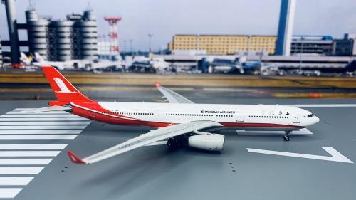 Shanghai Airlines 上海航空 Airbus A330-300 B-6097  PH10859 Phoenix 1:400