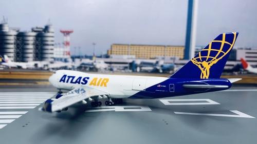 Atlas Air 阿特拉斯航空 Boeing 747-400 N418MC  GJGTL397 Geminijets 1:400