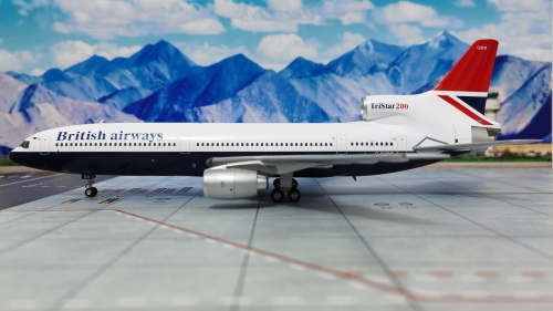 British Airways 英国航空 Lockheed L-1011 TriStar G-BGBB  ARDBA16 ARD200 1:200