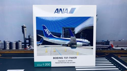 ANA 全日空 Boeing 737-700 JA13AN Inspiration of JAPAN NH20081 Hogan 1:200