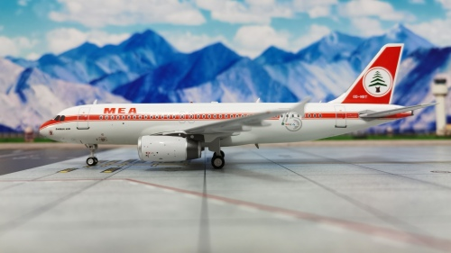 Middle East Airlines 中东航空 Airbus A320 OD-MRT 75周年彩绘 IF320ME0720 Inflight200 1:200