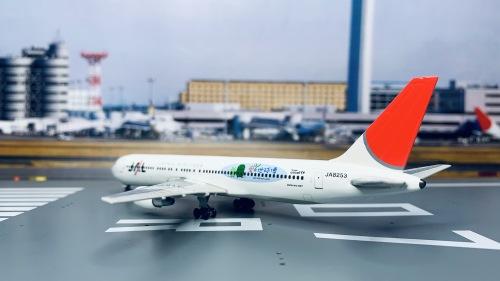 Japan Airlines 日本航空 Boeing 767-300 JA8253 爱知世博会 EXPO 2005 PH10005 Phoenix 1:400