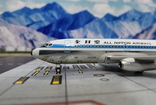 ANA 全日空 Boeing 737-200 JA8401  WB2007 Aviation200 1:200