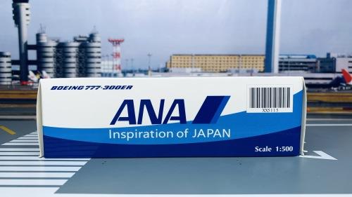 ANA 全日空 Boeing 777-300ER JA779A Inspiration of JAPAN XX5115 JC Wings 1:500