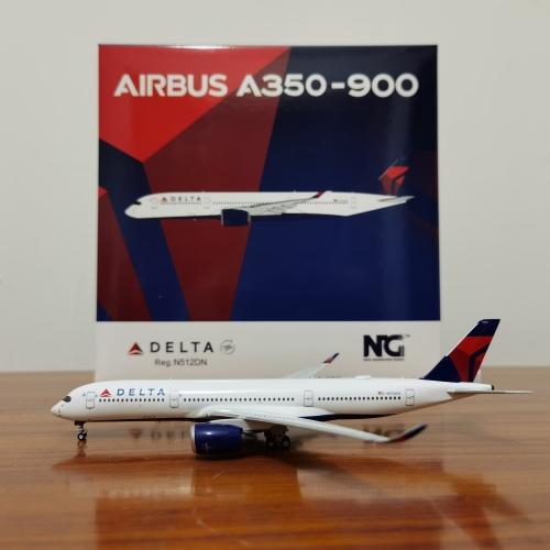 Delta Air Lines 达美航空 Airbus A350-900 N512DN  NG39006 Ngmodel 1:400