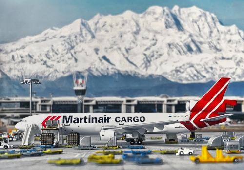 Martinair 马丁航空 McDonnell Douglas MD-11 PH-MCW  PH10036 Phoenix 1:400