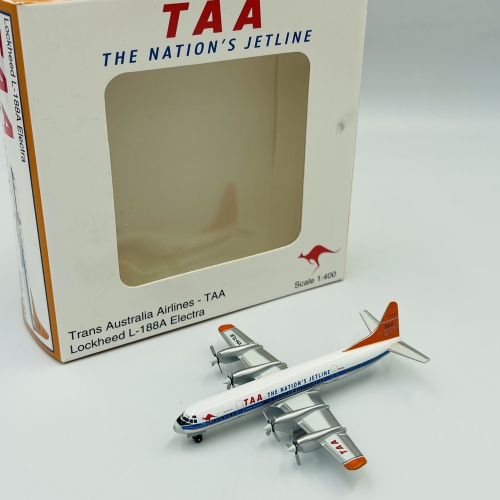 Trans Australia Airlines Lockheed L-188 Electra VH-TLB  JC4303 JC Wings 1:400