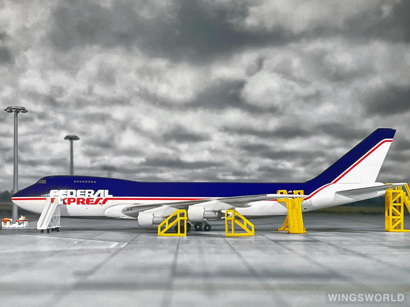 Big Bird 1:400 BB4-2003-10B FedEx 联邦快递 Boeing 747-200 N633FE