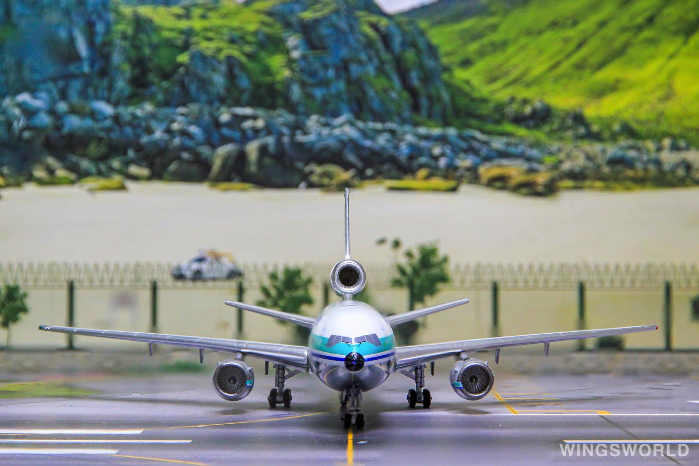 AeroClassics 1:400 ACZKNZM Air New Zealand 新西兰航空 McDonnell Douglas DC-10 ZK-NZM
