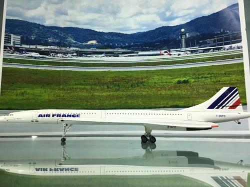 Air France 法国航空 Concorde F-BVFC  HG8911FC Hogan 1:200