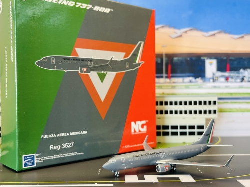 Mexican Air Force 墨西哥空军 Boeing 737-800 3527  NG58013 Ngmodel 1:400